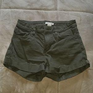 Mid-waist Shorts H&M